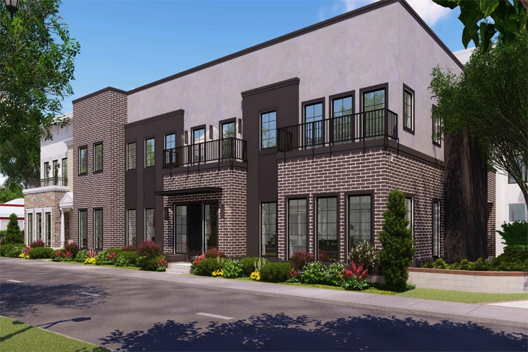 Rendering of 652 Morse Blvd by Phil Kean