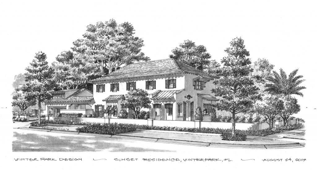 Rendering of 1900 Sunset Drive by LunDev Custom Homes