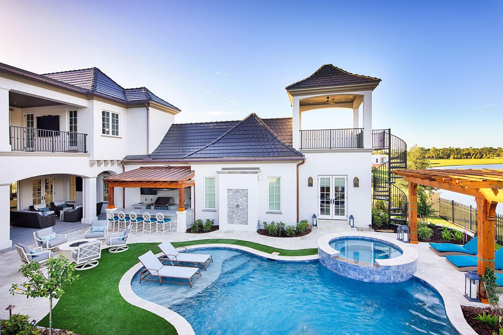 Custom Home by Derrick Builders