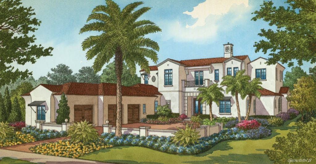 Elevation of Santa Barbara by JRW Construction