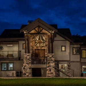 Custom Home by PSG Construction